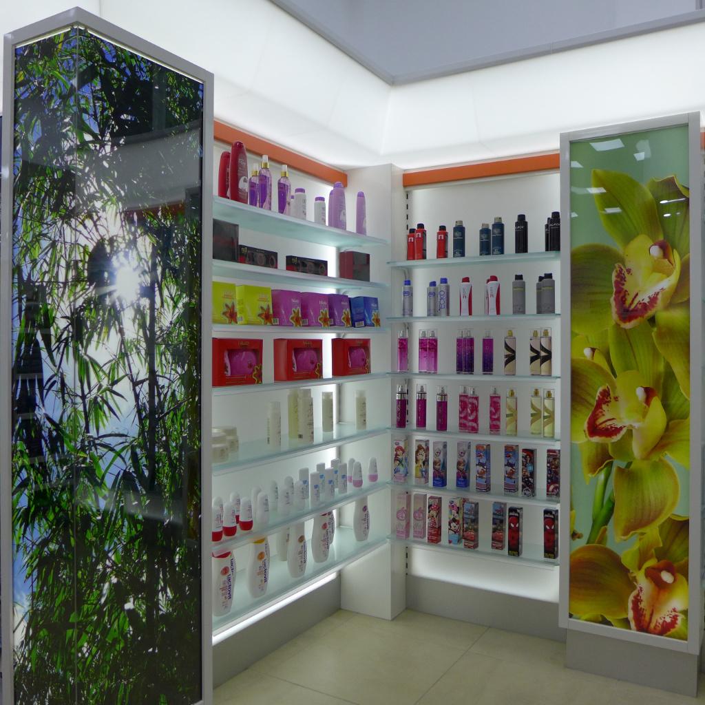 Cosmetic, Pharmacia MiSueno, Apotheke bei AT Design Team