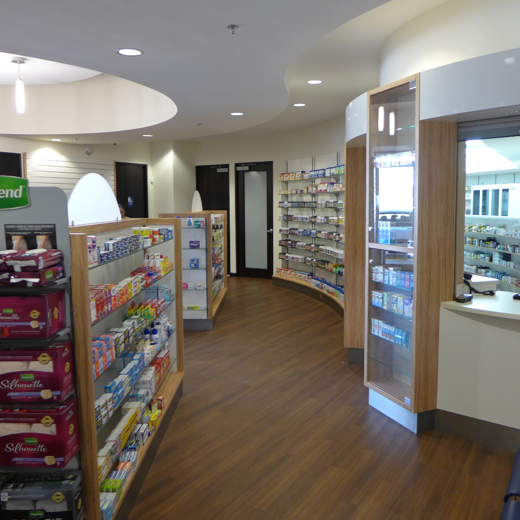 Counter, Specialty Pharmacy , Apotheke bei AT Design Team