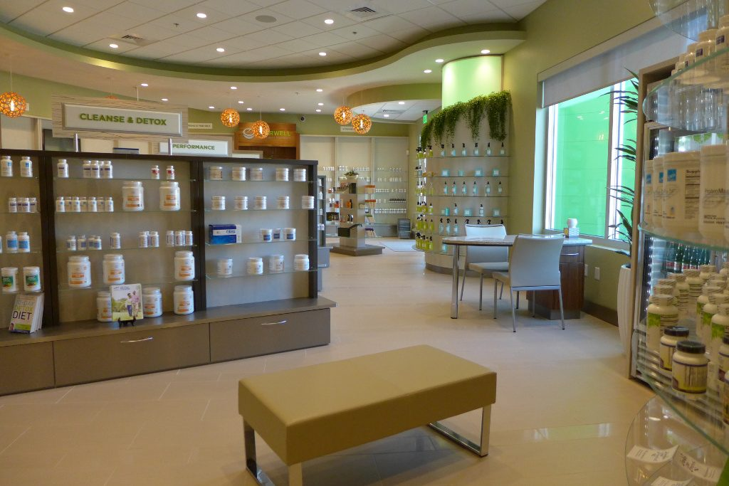 Front End, Everwell Pharmacy, Apotheke bei AT Design Team