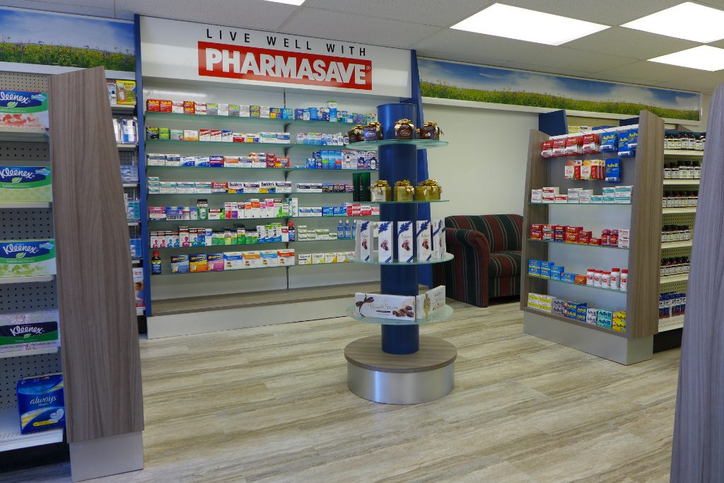 Front End, Pharmasave Pharmacy, Apotheke bei AT Design Team