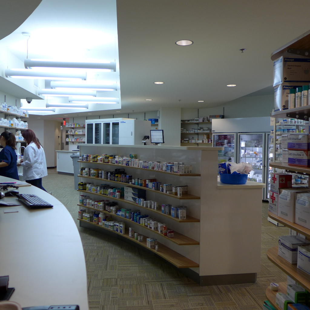 Rx workstation, Specialty Pharmacy , Apotheke bei AT Design Team