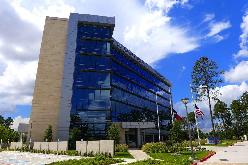 Krankenhaus in Texas, Aussenansicht. AT Design Team