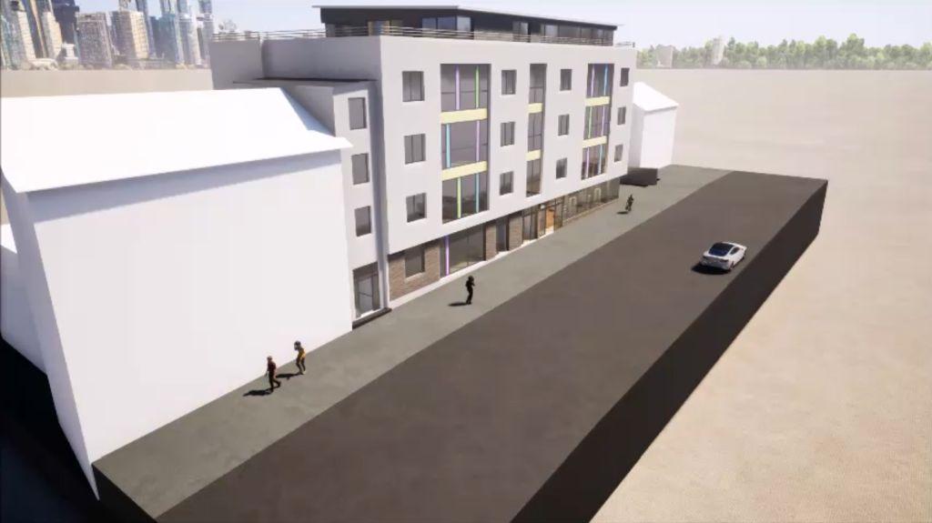 Ärztehaus 3D Planung